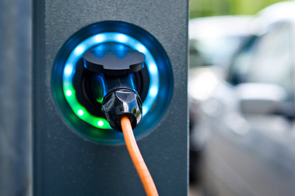 Electric Vehicle Charger in Pleasant Hill, CA installed by Rockridge Renewables