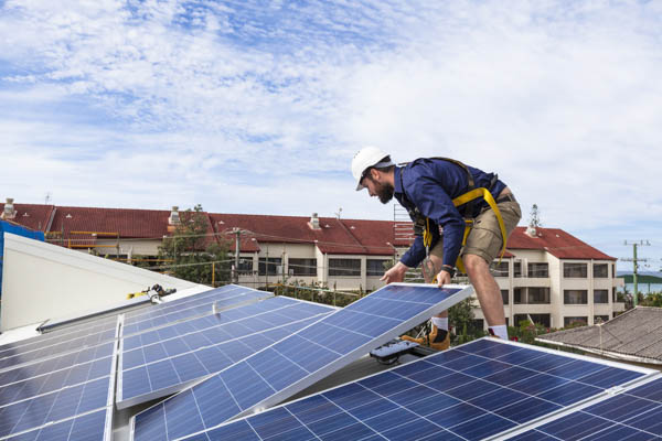 Solar Energy installation provided by Rockridge Renewables in Martinez CA