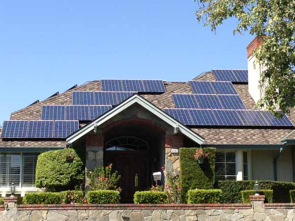 Solar system installed in Concord, CA by Rockridge Renewables.
