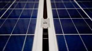 Solar panels on the roof of a Concord, CA home, installed by Rockridge Renewables.